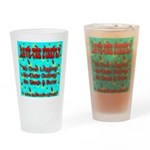 Save The Firefly No Over Logg Drinking Glass
