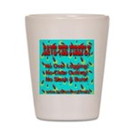 Save The Firefly No Over Logg Shot Glass