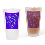 Love Aglow Drinking Glass
