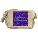 Firefly Enchantment Messenger Bag