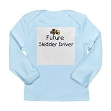 Future Skidder Driver Long Sleeve Infant T-Shirt