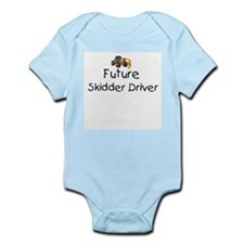 Future Skidder Driver Infant Bodysuit