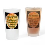 Sands of the World: Faith Drinking Glass