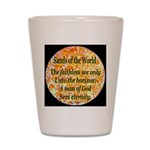 Sands of the World: Faith Shot Glass