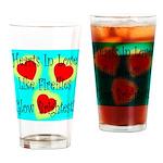 Firefly Hearts Drinking Glass