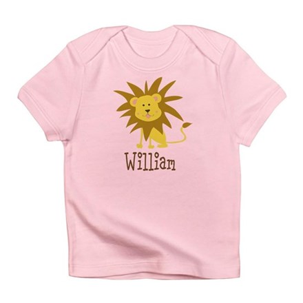 Custom Name Lion Infant T-Shirt