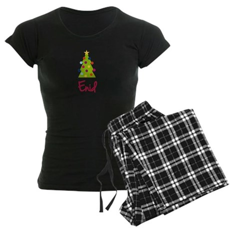 Christmas Tree Enid Women's Dark Pajamas