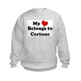 My Heart: Corinne Sweatshirt