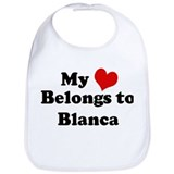 My Heart: Blanca Bib
