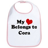 My Heart: Cora Bib