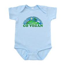 Live Compassionately Infant Bodysuit