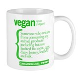 Vegan: Defined Small Mug