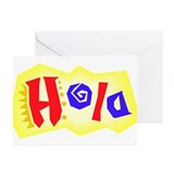 """Hola!"" Greeting Cards (Pk of 10)"
