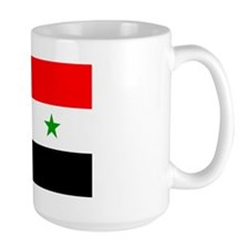 Flag of Syria Large Mug