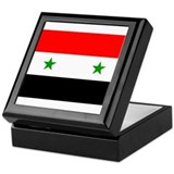 Flag of Syria Keepsake Box
