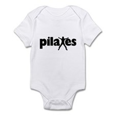 New! Pilates by Svelte.biz Infant Bodysuit