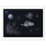 USS Reliant, Wall art Small Poster