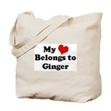My Heart: Ginger Tote Bag