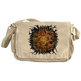 psyche round design Messenger Bag