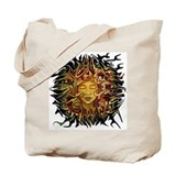 psyche round design Tote Bag