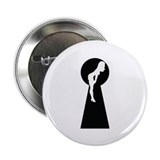 "Sexy girl keyhole 2.25"" Button (10 pack)"