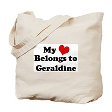 My Heart: Geraldine Tote Bag