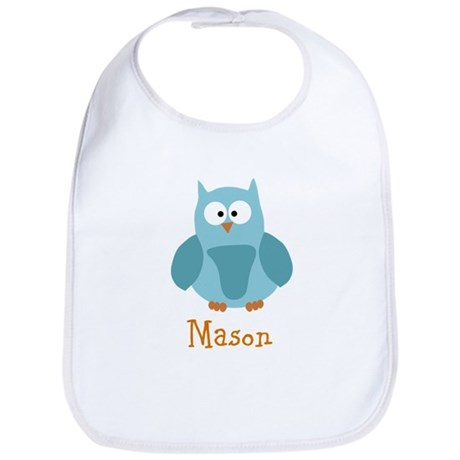 Custom Name Owl Bib