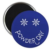 Cute Powder day Magnet