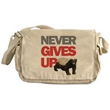 Honey Badger Don't Care Messenger Bag