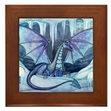 Blue Ice Dragon Fantasy Art by Molly Harrison Fram