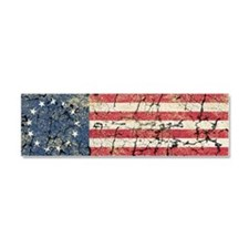 13 Colonies US Flag Distresse Car Magnet 10 x 3