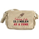 Taking Life 13.1 miles Messenger Bag