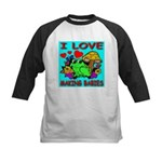 I Love Making Babies Kids Baseball Jersey