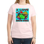 I Love Making Babies Women's Pink T-Shirt