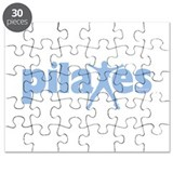 PIlates Baby Blue by Svelte.biz Puzzle