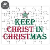 Keep Christ star Puzzle