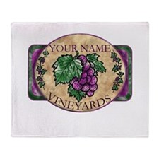 Your Vineyard Throw Blanket