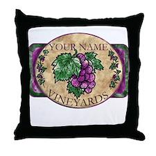 Your Vineyard Throw Pillow