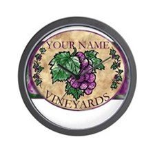 Your Vineyard Wall Clock