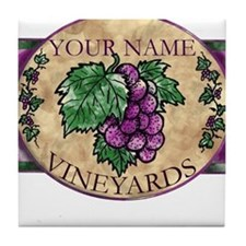 Your Vineyard Tile Coaster