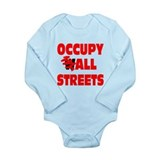 Occupy All Streets Long Sleeve Infant Bodysuit