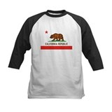 California State Bear Flag Kids' Baseball Jersey