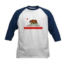California State Bear Flag Kids' Baseball Jersey