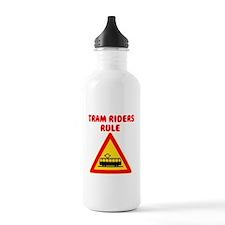 Tram Riders Water Bottle