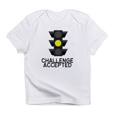 Challenge Accepted Yellow Lig Infant T-Shirt