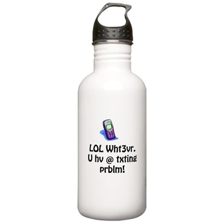 LOL Wht3ver Stainless Water Bottle 1.0L