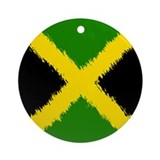 Flag of Jamaica Ornament (Round)