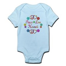 Peace Love Hawaii Infant Bodysuit