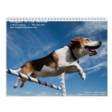Beagles to the Rescue Wall Calendar