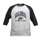 US Navy Seabees Blue and Gold Tee